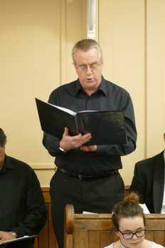 Tenor Guy Edwards at our Operatic Gala Concert, 1 April 2017