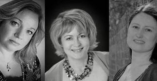 Susan Coates, Anne Braley and Rachel Allard
